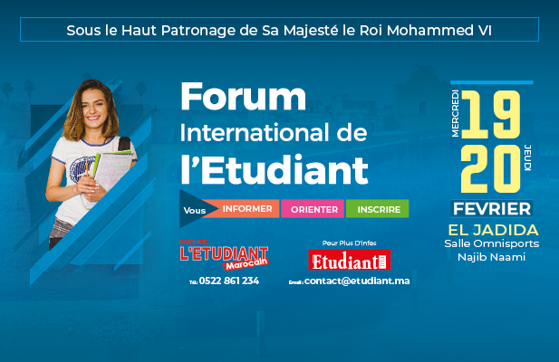 Large forum international de letudiant eljadida